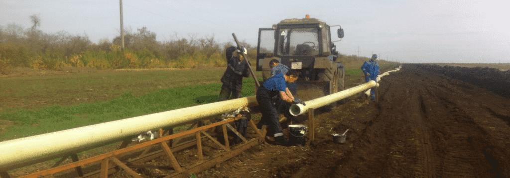 , Шеф-монтаж стеклопластиковых труб