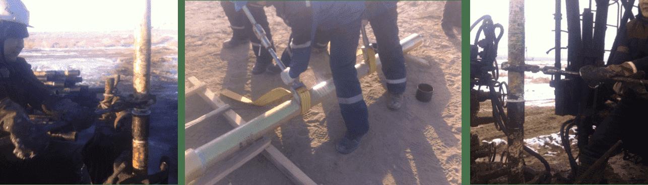 , Монтажные ключи для стеклопластиковых труб