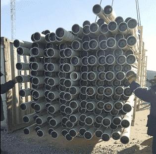 Диаметры стеклопластиковых труб